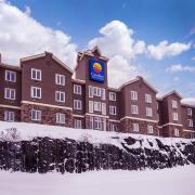 vue extérieure hiver comfort inn & suites saint-jérôme