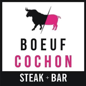 logo resto-bar Boeuf Cochon