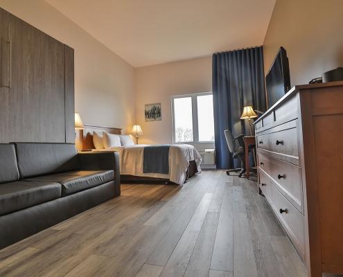 chambre classique comfort inn & suites saint-jérôme