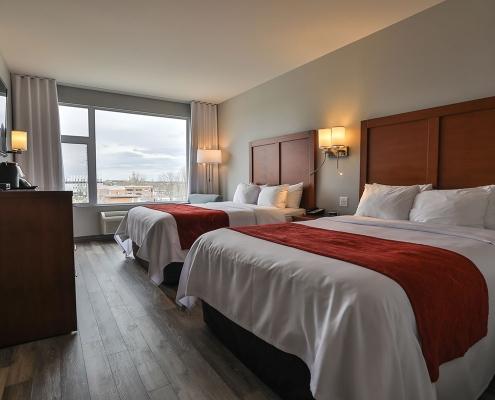 suite familiale vue comfort inn & suites saint-jérôme