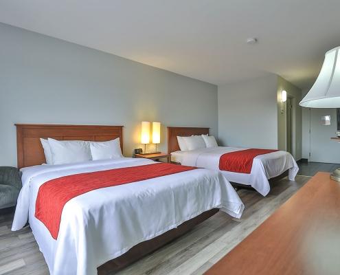 chambre classique lits comfort inn & suites saint-jérôme