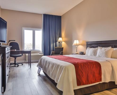 chambre classique vue comfort inn & suites saint-jérôme